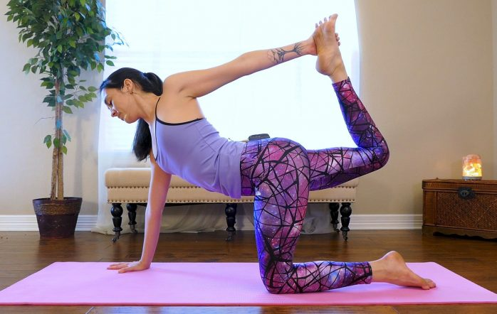 Day 1 addresses core strength & spinal stability, 2 things that are the foundation for you to feel confident in any yoga practice or any athletic activity at all. If you don