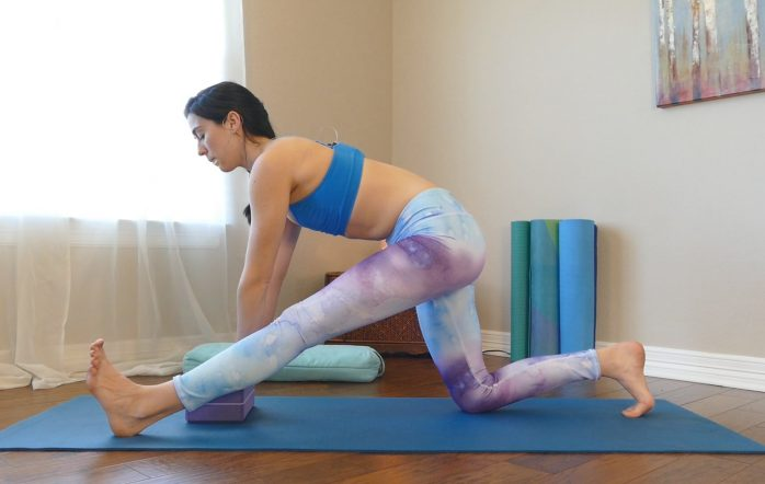 Day 5 is all about opening those hips! These safe and effective stretches should be done daily to really open up those muscles. These stretches are great for helping you achieve your splits and generally helping boost your yoga practice