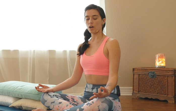 Day 6 takes it down a couple of levels to a more relaxed and calm meditation and restorative flow