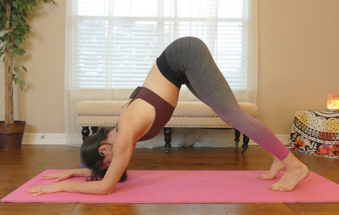 Day 10 is all about building those shoulder muscles, which are essential for most yoga poses from down dog to sun salutes.